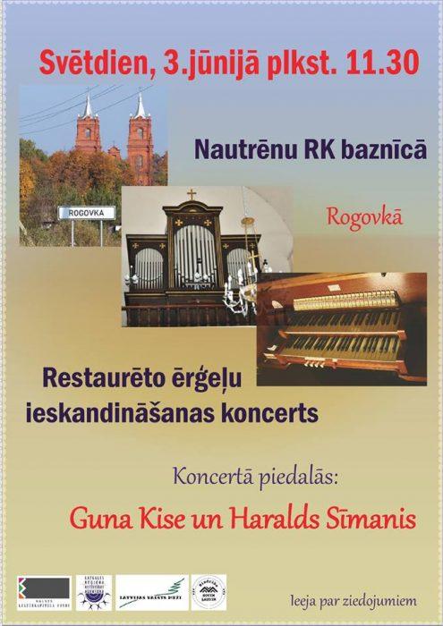 Vargaņu koncerts @ Nautrānu Rūmys katūļu bazneica | Rogovka | Latvia