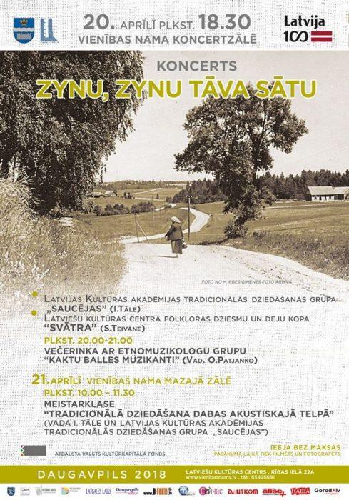 Zynu, zynu tāva sātu @ Daugovpiļs Vīneibys noms | Limbaži | Latvia