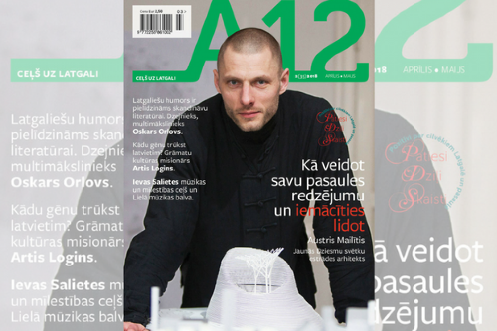"Kū var skaiteit žurnala ""A12"" pavasara numerī"