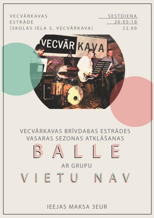 Breivdobys estradis atkluošonys bals @ Vacvuorkova | Vārkava Municipality | Latvia