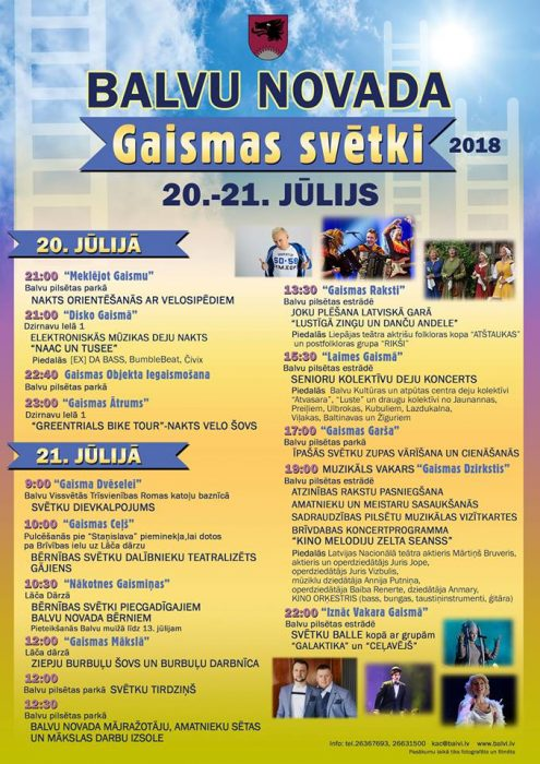 Bolvu nūvoda Gaismys svātki @ Bolvi | Balvi | Latvia