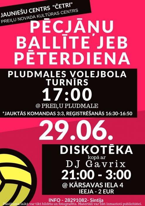 Pīterdīnys pludmalis volejbols @ Preiļu pludmale | Preili | Latvia