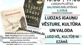 Ludzā varēs izzynuot Ludzys igauņu viesturi, kulturu i dzierdēt izzudušū volūdu