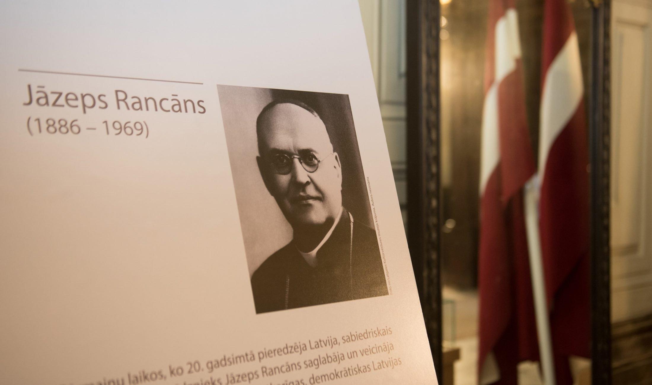Veiskups Jezups Rancāns – prezidents nu Latgolys