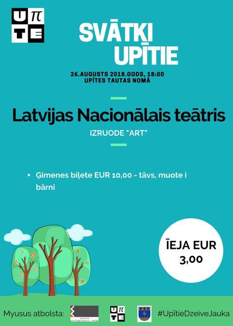 Latvejis Nacionaluo teatra izruode. Svātki Upītē @ Upīte | Upīte | Latvia