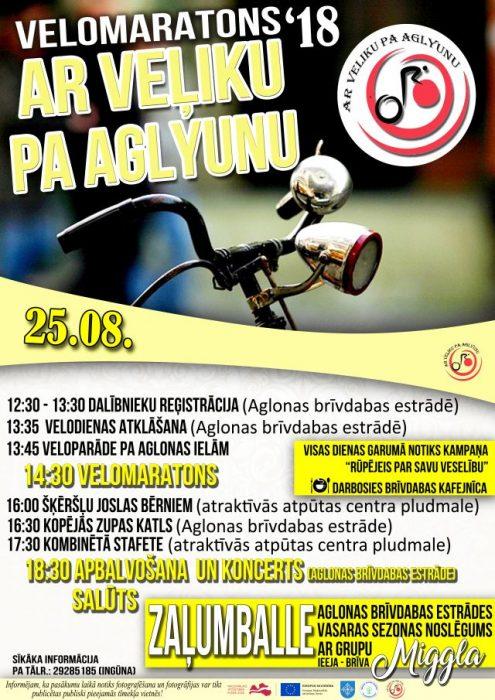 "Velomaratons ""Ar veļiku pa Aglyunu"" @ Aglyuna | Aglona | Latvia"