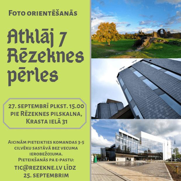 Fotoorientuošonuos Rēzeknē @ Pi Rēzeknis piļskolna | Rēzekne | Latvia