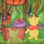 Nūsaver animacejis kinu latgalīšu volūdā par Vinneju Pūku Viļānūs