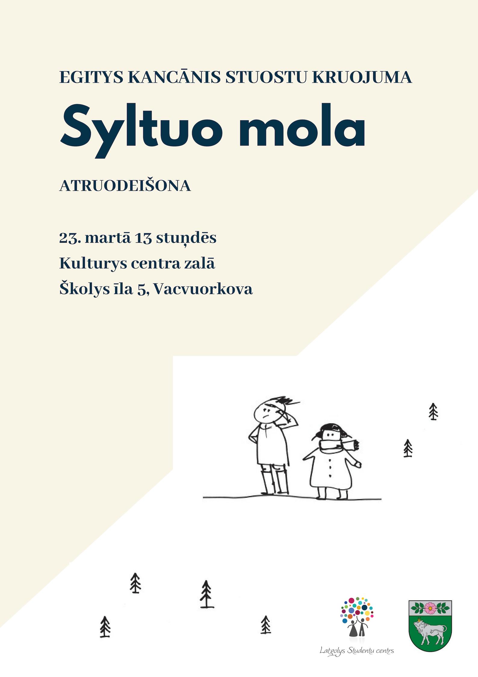 """E. Kancānis gruomotys """"Syltuo mola"""" prezentaceja @ Kulturys centra zalā"""