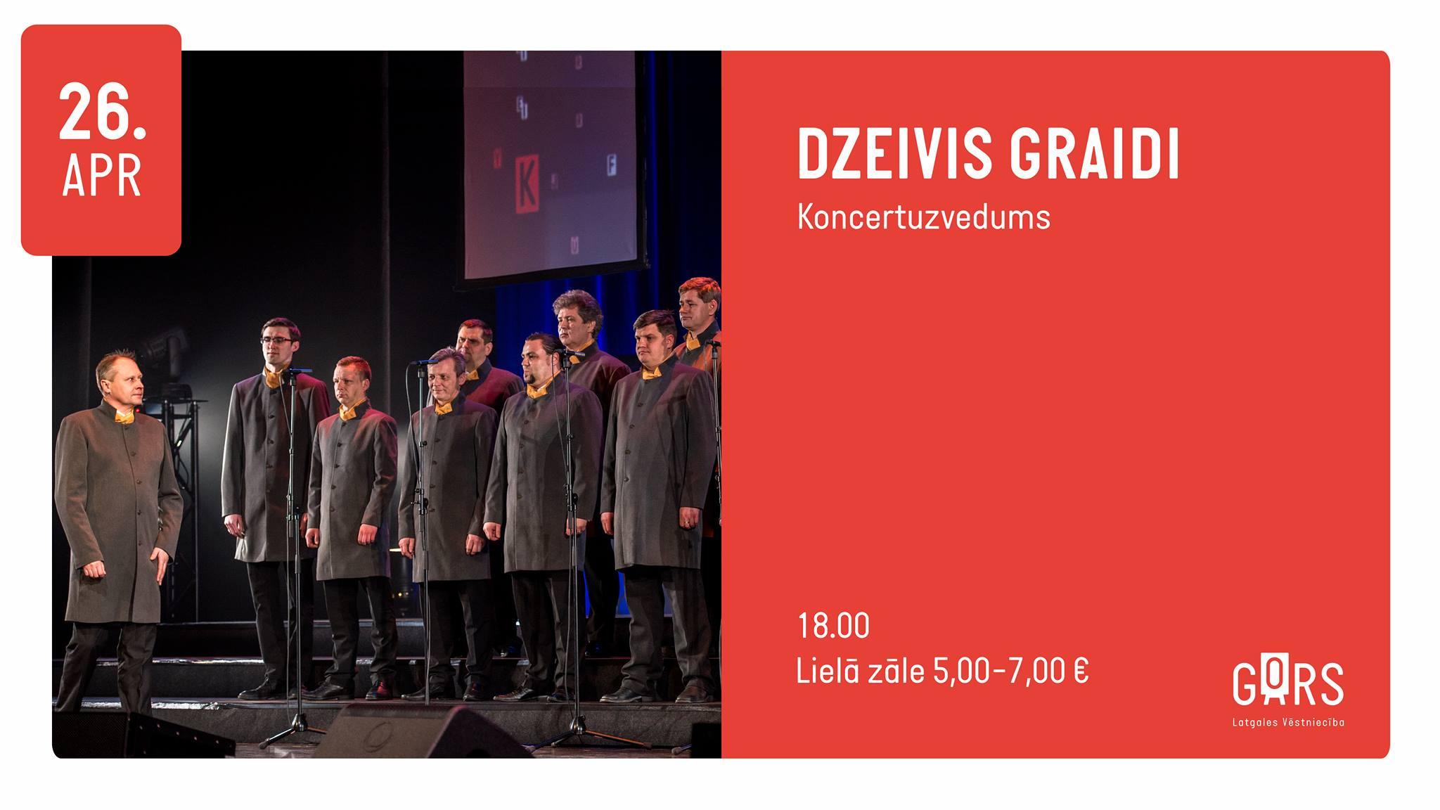"""Koncertuzvadums """"Dzeivis graidi"""" @ Latgolys viestnīceiba GORS"""