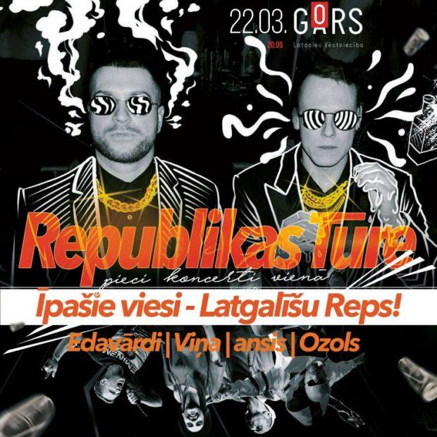 """""""Republikas tūre"""" ar """"Latgalīšu reps"""" @ Latgolys viestnīceiba GORS"""