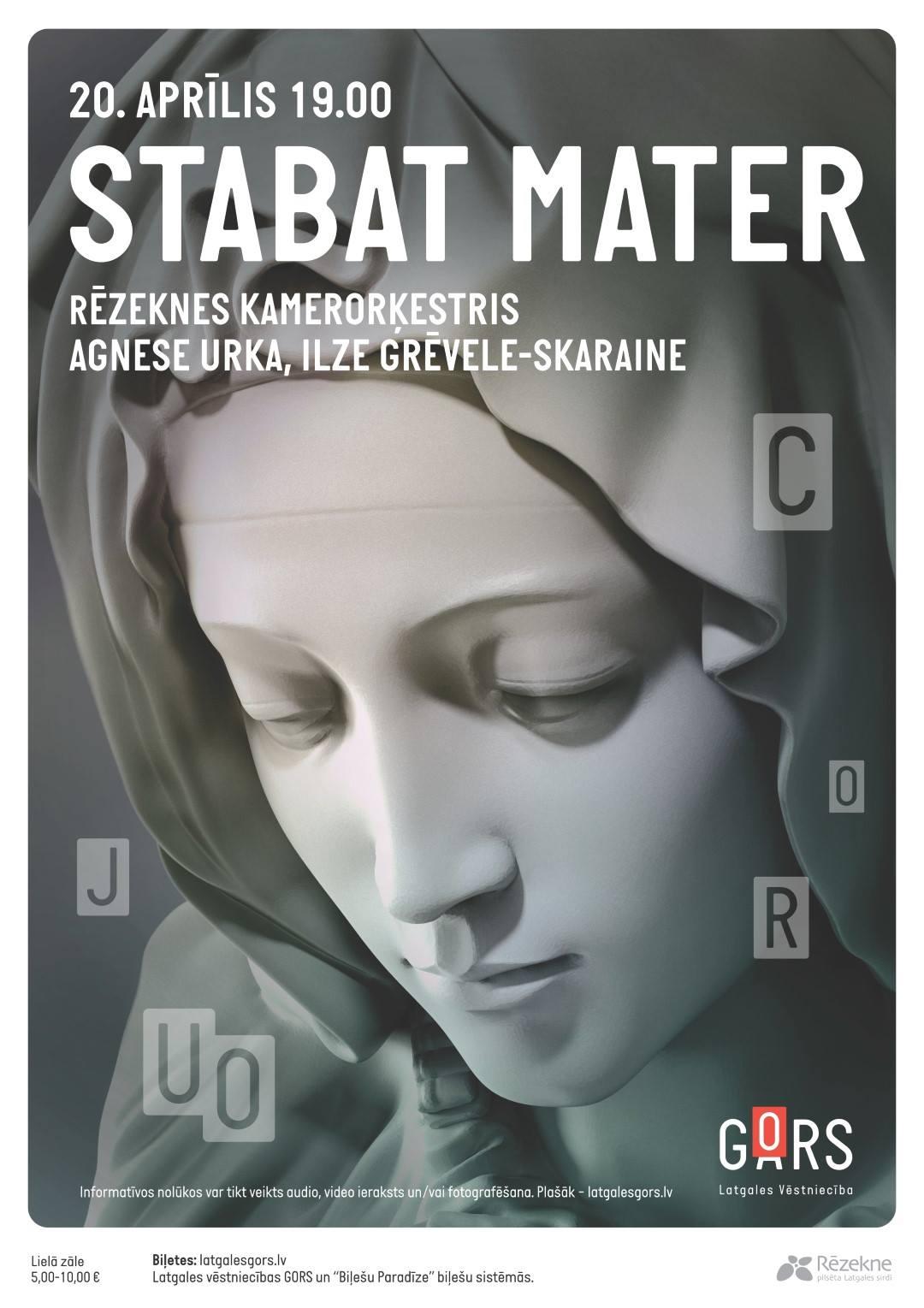Stabat Mater @ Latgolys viestnīceibā GORS