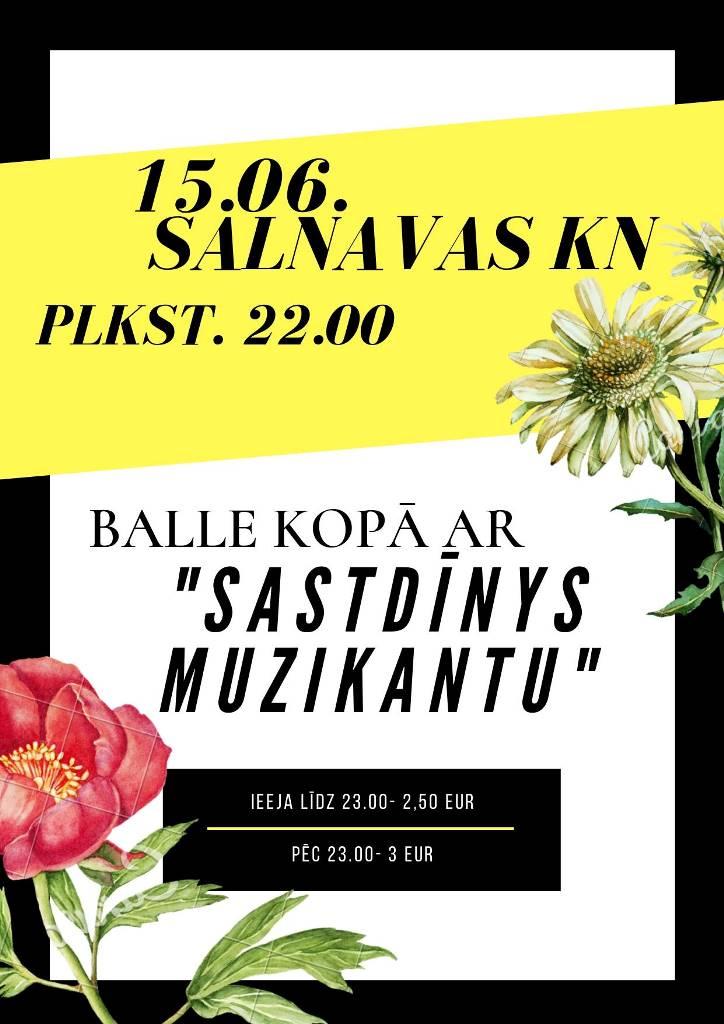 """Bals ar grupu """"Sastdīnys muzykanti"""" @ Saļņovys KN"""