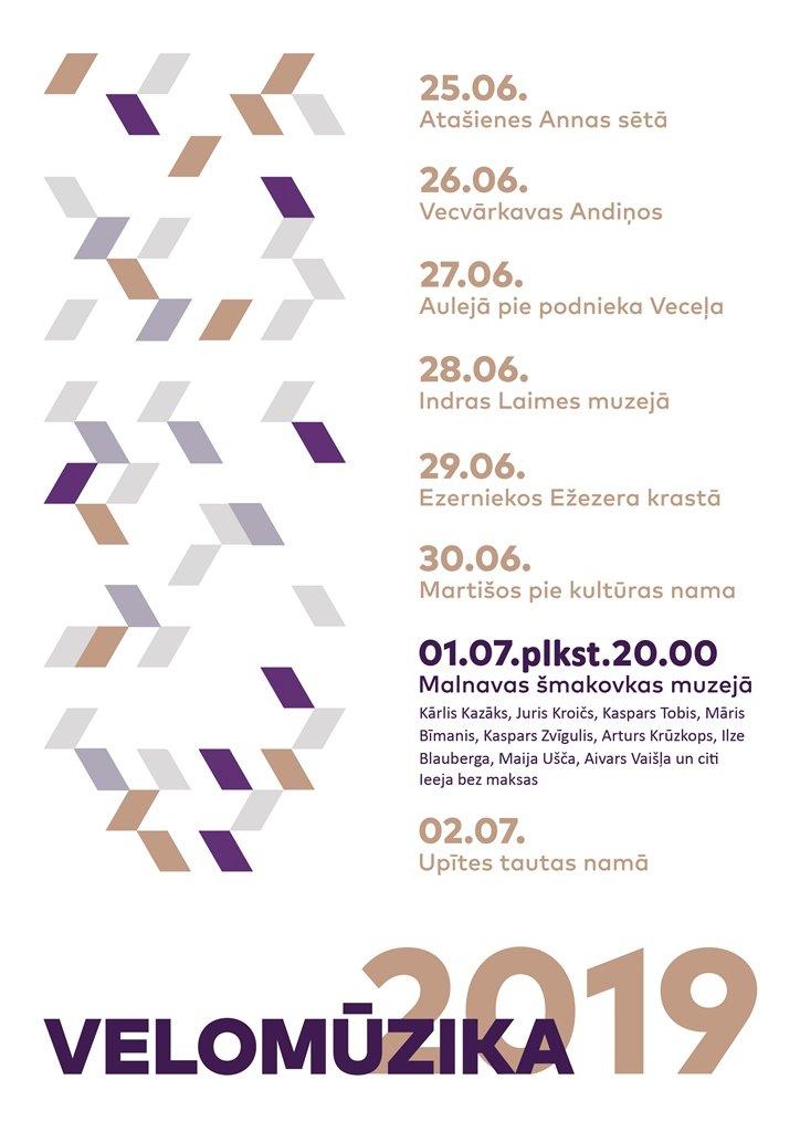 Velomuzyka 2019 Latgolā