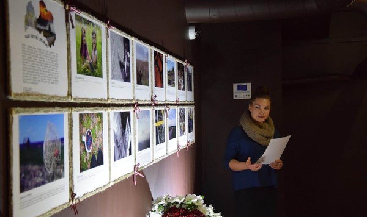 "Šmakovkys muzejā Daugovpilī atkluota LgSC fotoizstuode ""Kas Tev ir Latveja?"""